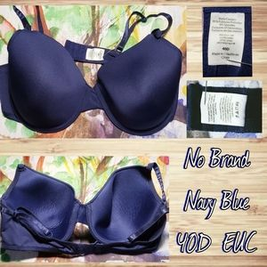 Navy Blue Bra 40D